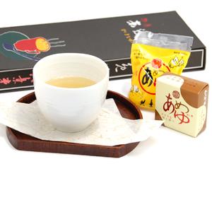 生姜と麦芽飴を使ったのどにやさしいお飲み物です。