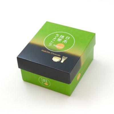 日本抹茶ちょこら 4個入ボックス