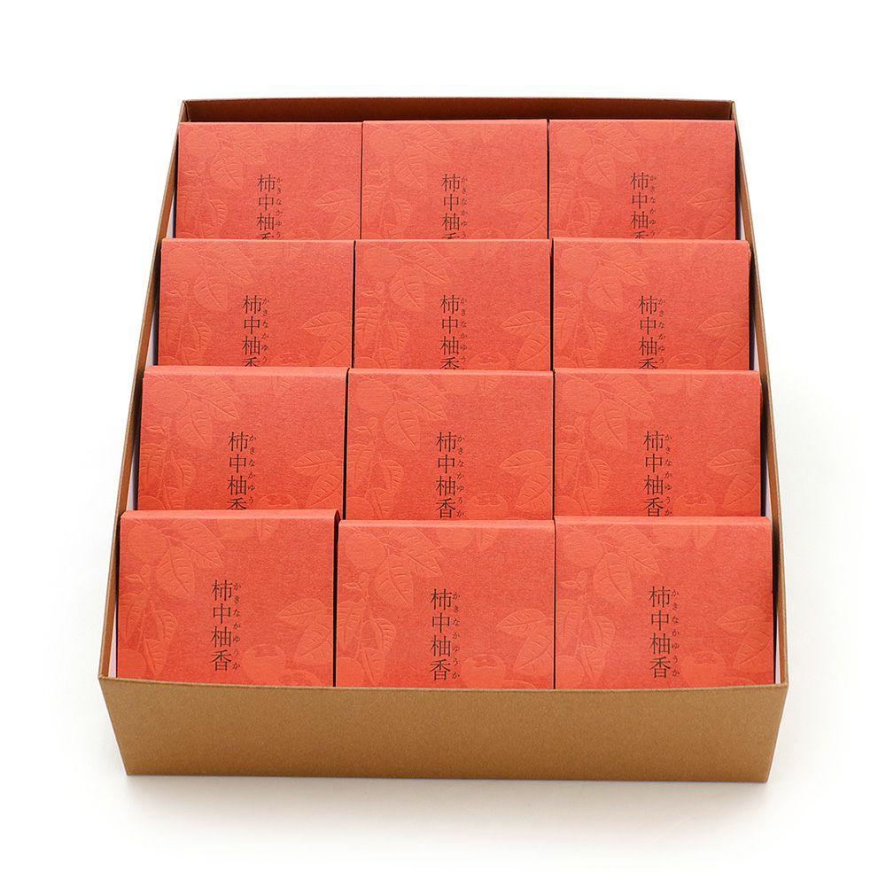 柿中柚香(かきなかゆうか)12個入