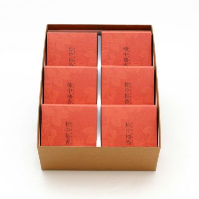 柿中柚香(かきなかゆうか)6個入