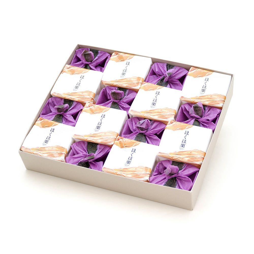 ひとつぶの紫苑・ほくほ栗詰合せ16個入