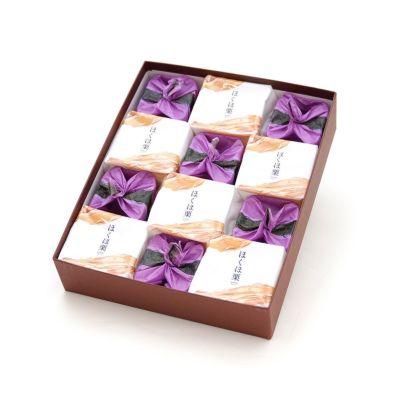 ひとつぶの紫苑・ほくほ栗詰合せ12個入