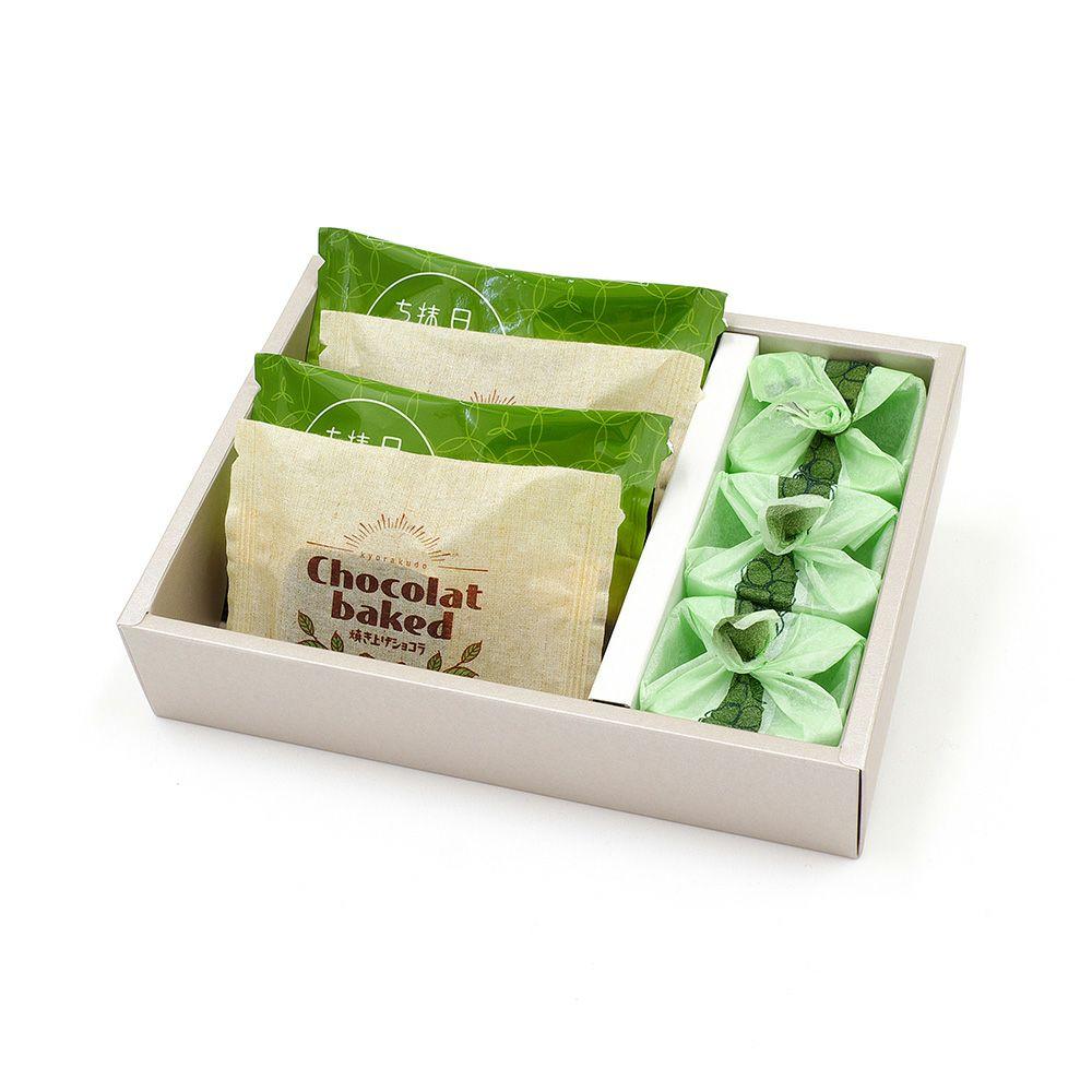 ひとつぶのマスカット・焼き上げショコラ・日本抹茶ちょこら詰合せ 10個入(冷蔵便)